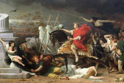 Caesar- di-Adolphe-Yvon-olio su tela-1875