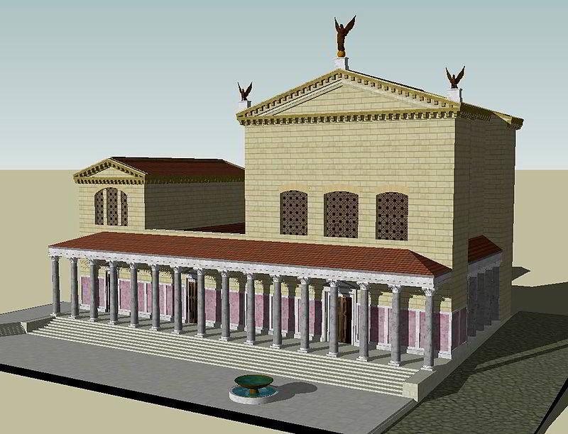 Curia-Julia-ricostruzione