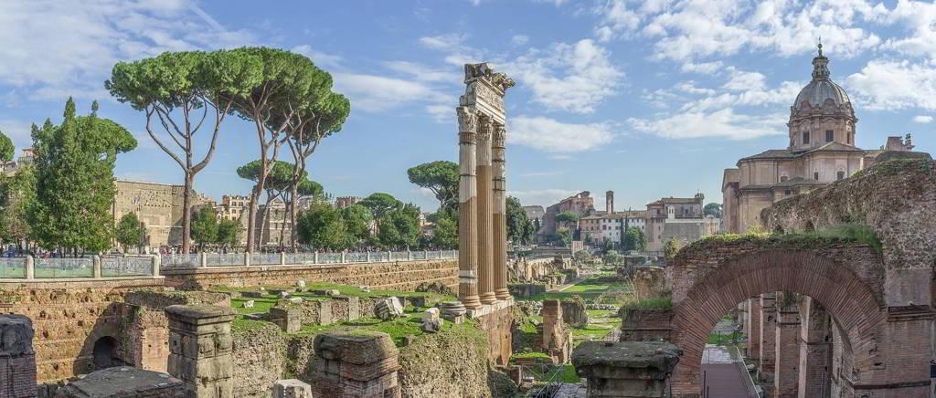 Foro-di-Cesare-a-Roma