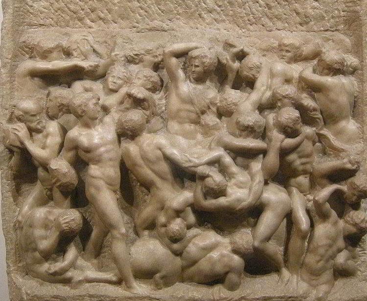 Michelangelo-centauromachia