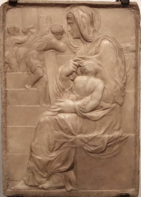 Michelangelo-madonna-della-scala
