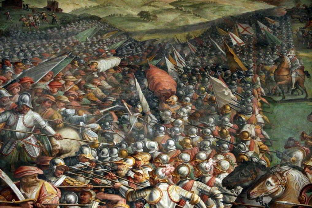 Giorgio-Vasari-e-aiuti-la-battaglia-di-marciano-in-val-di-chiana