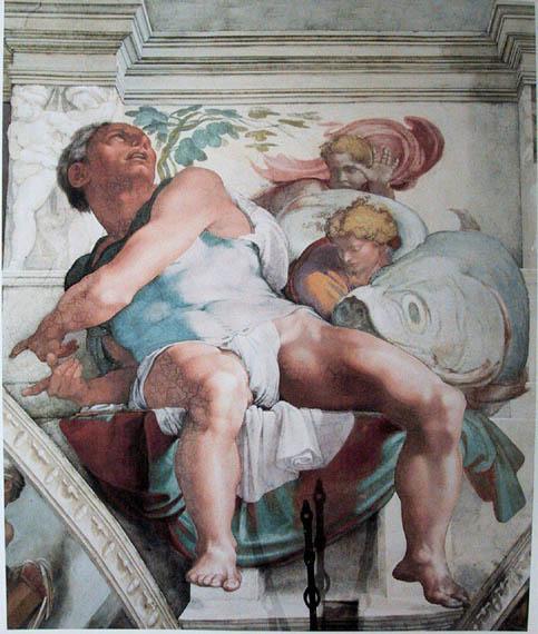 Il-profeta-Giona-Michelangelo