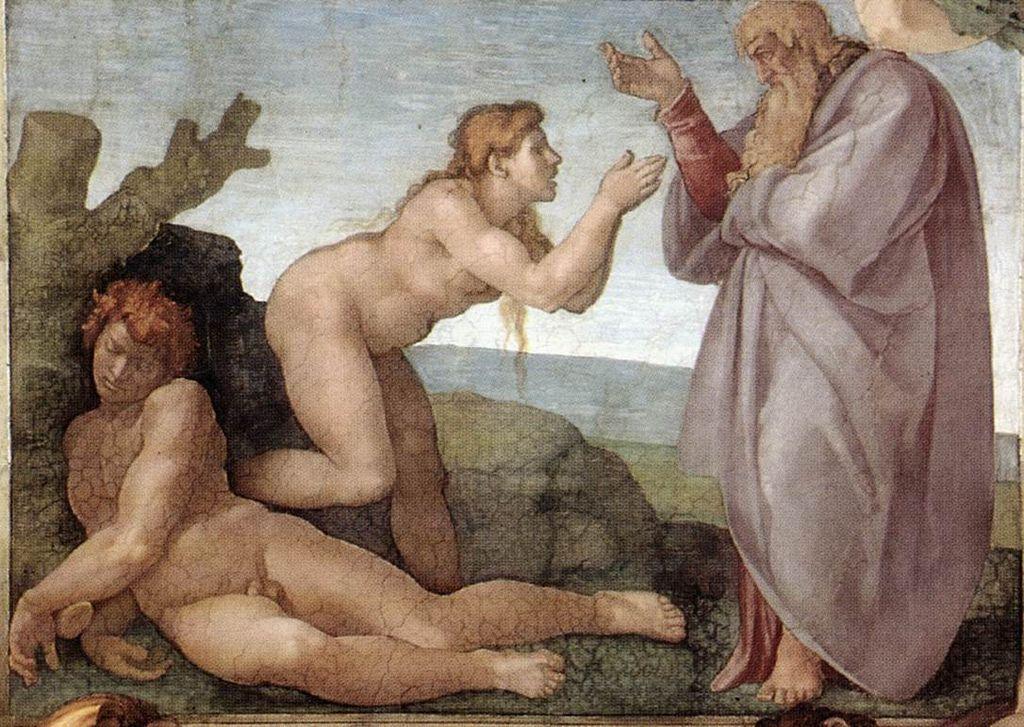 La-Creazione-di-Eva-Michelangelo
