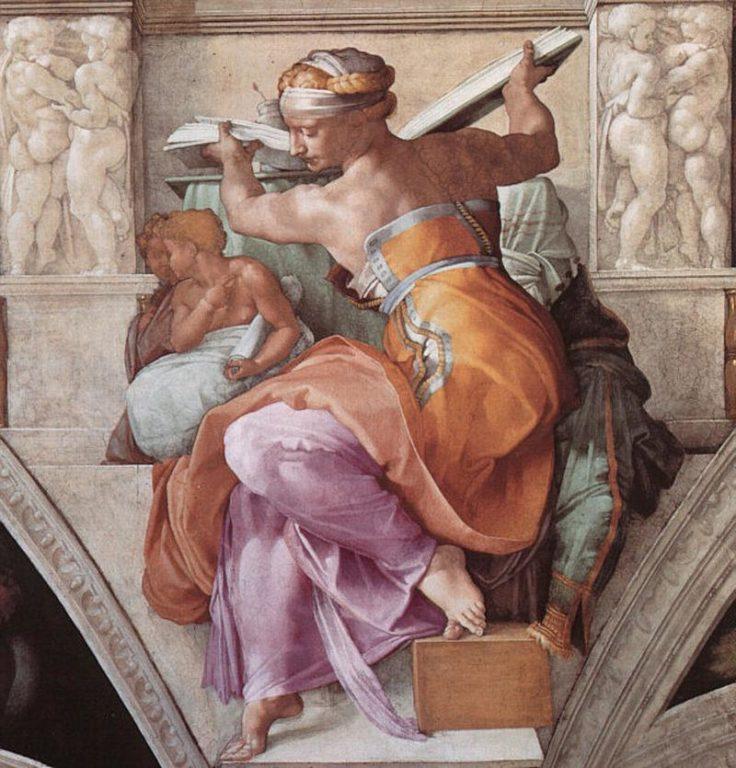 La-Sibilla-Libica-Michelangelo