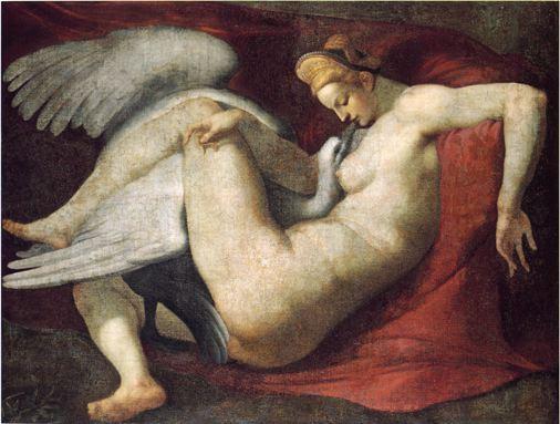Leda-e-il-cigno-Michelangelo
