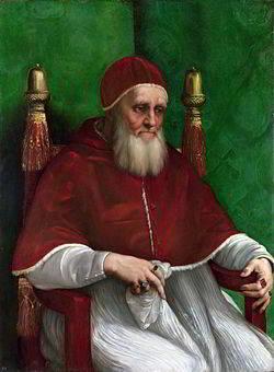 Papa-Giulio-II-ritratto-da-Raffaello-Sanzio