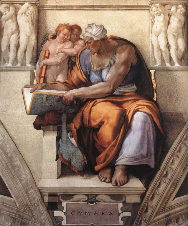 Sibilla-Cumana-Michelangelo