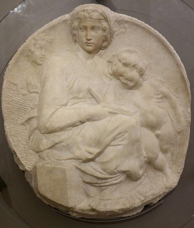 Tondo-Pitti-Michelangelo