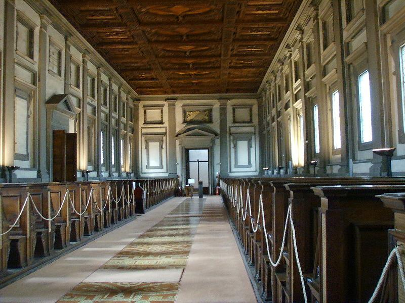 Biblioteca-Medicea-Laurenziana-interno