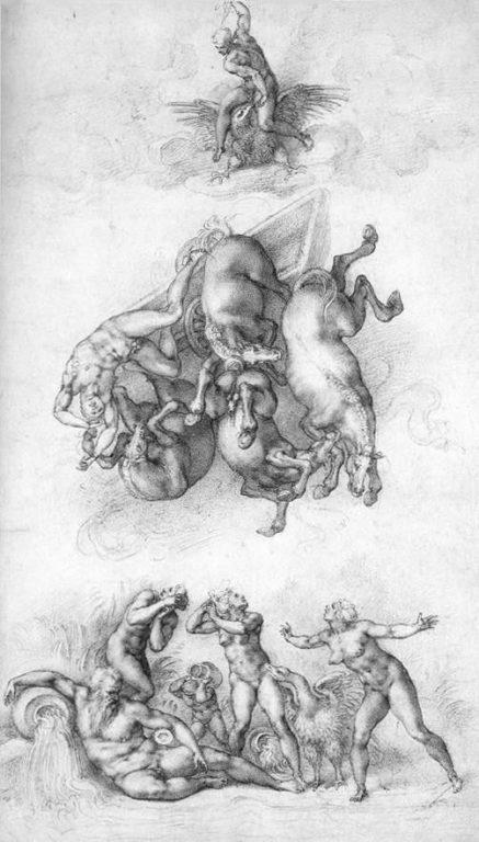 Michelangelo-Caduta-di-Fetone-circa-1533