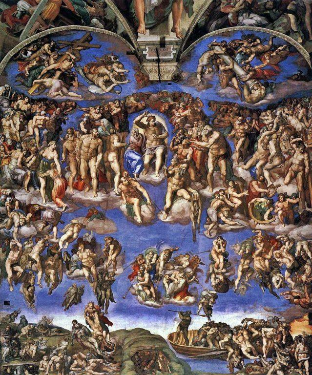 Michelangelo-Giudizio-Universale