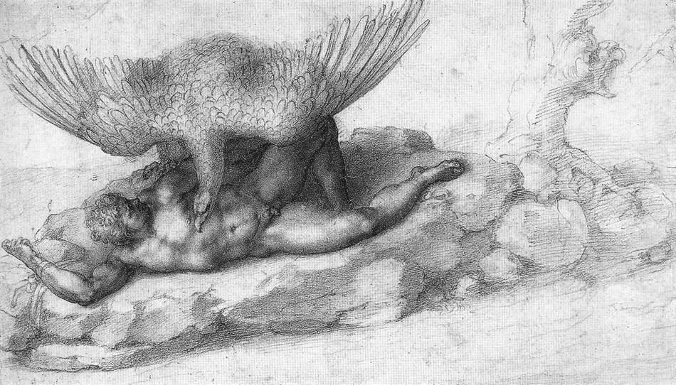Michelangelo-Punizione-di-Tizio-circa-1532