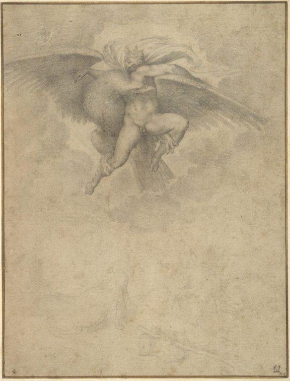Michelangelo-Rapimento-di-Ganimede-circa-1532