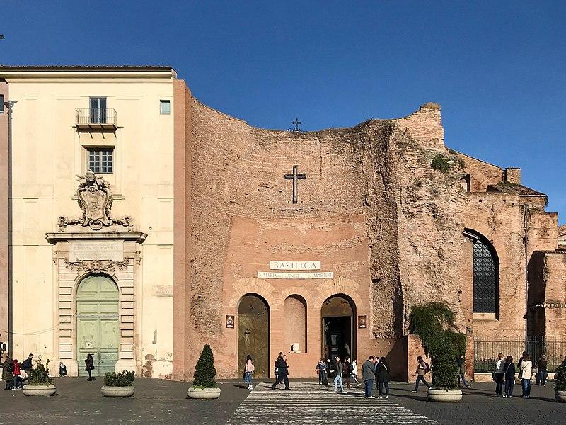 Basilica-di-Santa-Maria-degli-Angeli-e-dei-Martiri-a-Roma