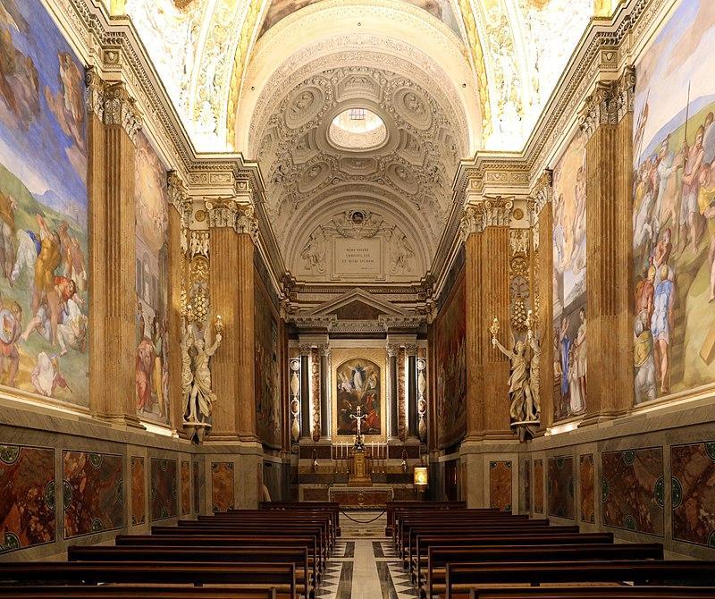 Cappella-Paolina-Palazzi-Pontifici-Vatican