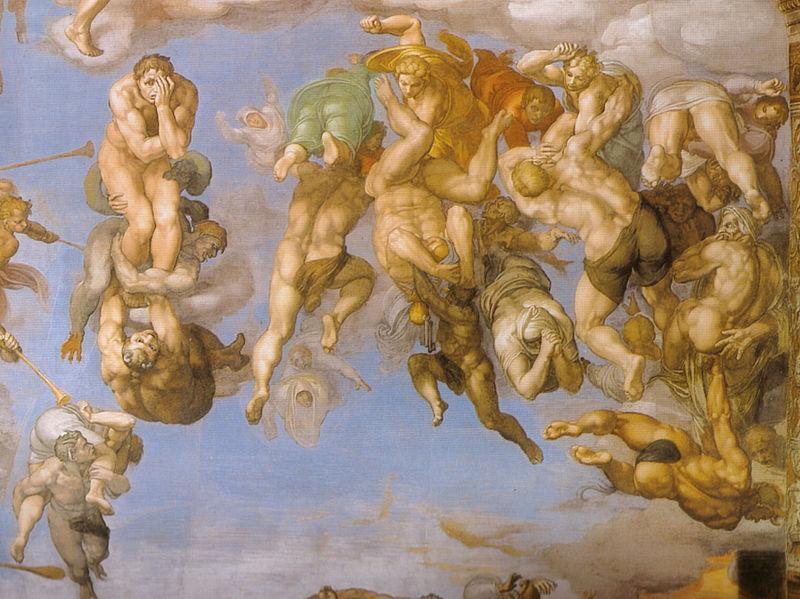 Michelangelo-Giudizio-Universale-dettagli