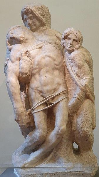 Michelangelo-Pietà-di-Palestrina-Galleria-dell-Accademia-Firenze