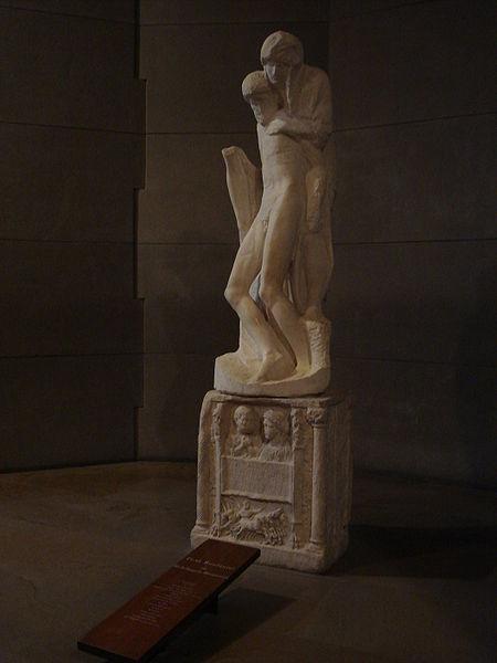 Pietà-Rondanini-Michelangelo-Buonarroti