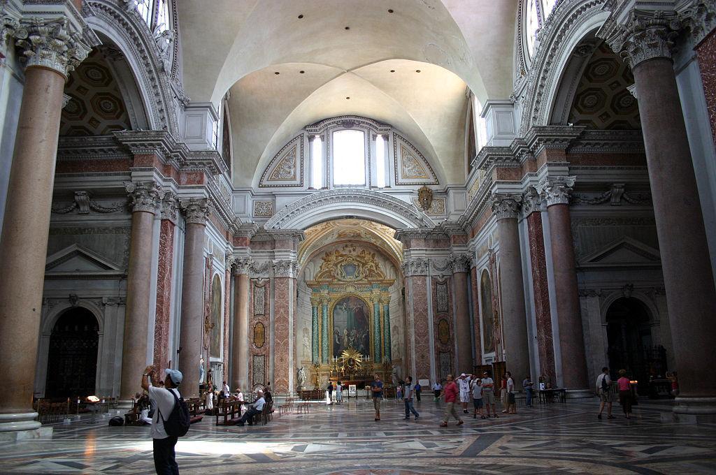 Roma-Santa-Maria-degli-Angeli-interno-Basilica-delle-terme