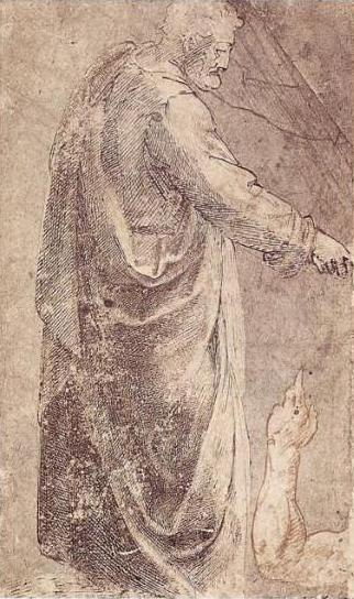 Michelangelo-San-Pietro-da-Masaccio