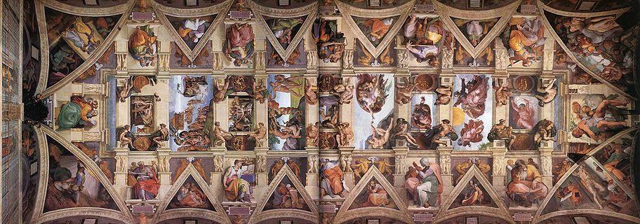 Cappella-Sistina-volta-Michelangelo