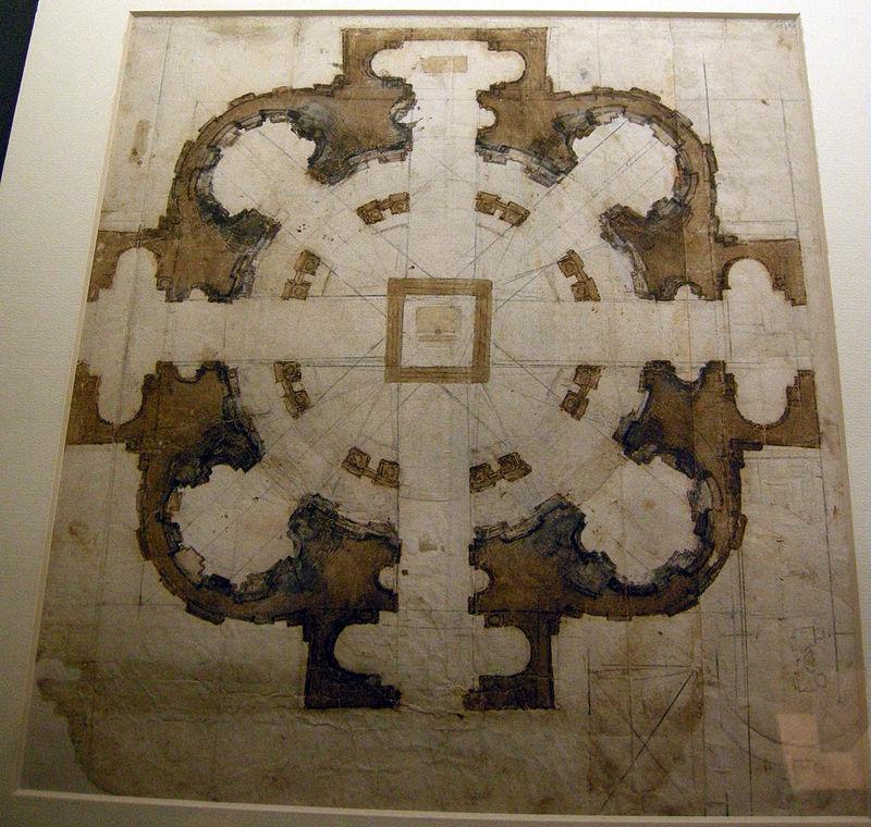 San-Giovanni-dei-Fiorentini-progetto-Michelangelo