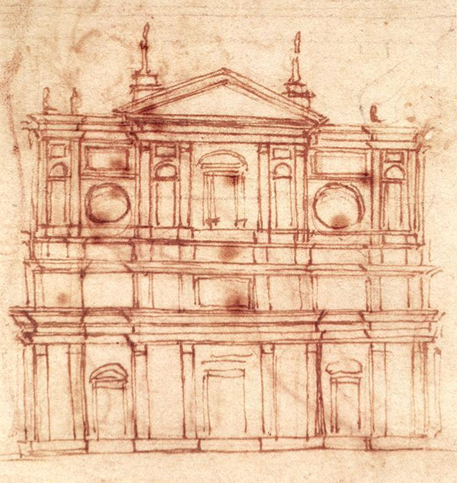 Michelangelo-Project-for-the-facade-of-San-Lorenzo-Florence