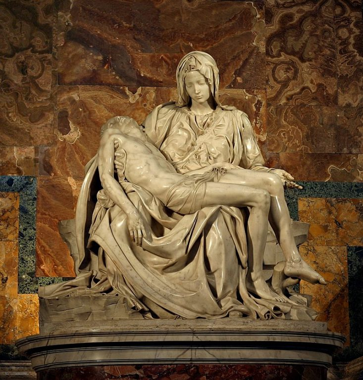 Pieta-di-Michelangelo