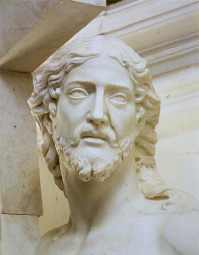 Primo-Cristo-Portacroce-dettaglio-Michelangelo